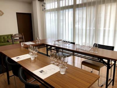 ワインセミナー - おうちスペースflat キッチン付きレンタルスペースの室内の写真