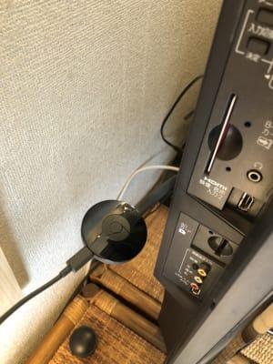 Chromecastが使えます。 - 喫煙可能なプライベートスペース 喫煙ワークスペースの室内の写真