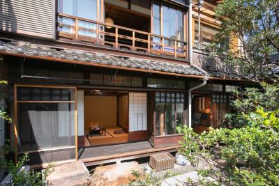 縁側 - 日暮荘 町家の個室で- 撮影プランの室内の写真
