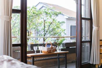洋個室 - 日暮荘 町家の個室で- 撮影プランの室内の写真