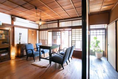 共用リビング - 日暮荘 町家の個室で- 撮影プランの室内の写真