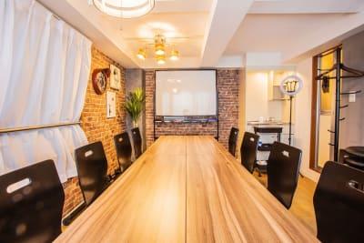 八丁堀サルービル ふれあい貸し会議室 八丁堀Aの室内の写真