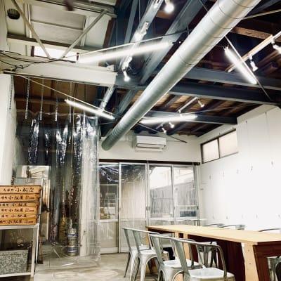 元和菓子工場を再利用したワークショップレンタルスペースです。 - MATSUNOMA 松乃間 ワークショップレンタルスペースの室内の写真