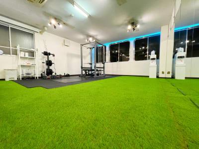 トレーニングスペースもあります。 - レンタルスタジオNEXT ダンス・ヨガスタジオの室内の写真