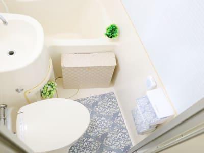 トイレには暖房便座、流水音発生器を設置しています - 新宿ダイカンプラザA館 みらいスペース西新宿の室内の写真