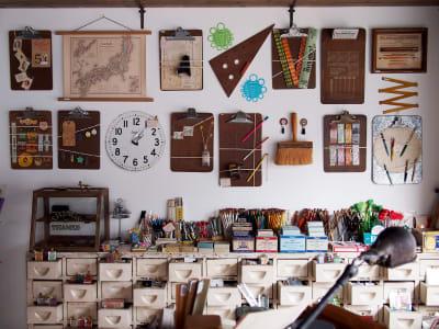 メインの売り場 - BUNGU BAR(文具バー) 撮影可能なカフェの室内の写真