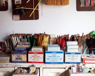 売り場の一部 - BUNGU BAR(文具バー) 撮影可能なカフェの室内の写真