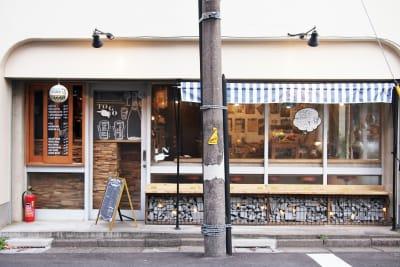 お店の脇 - BUNGU BAR(文具バー) 撮影可能なカフェの外観の写真