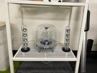 高級スピーカー(ハーマンカードン製) - レンタルスタジオNEXT レンタルジムNEXTの設備の写真