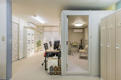my place 江田(防音室) テレワーク、楽器演奏の室内の写真