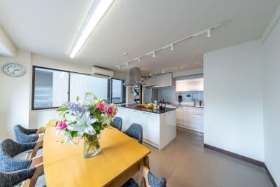 渋谷キッチンスタジオの室内の写真