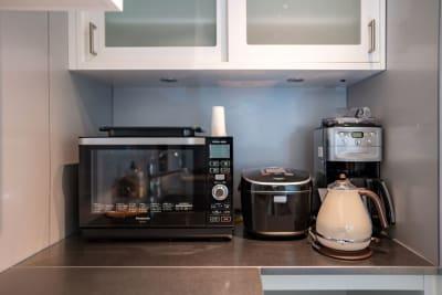 電化製品 - 渋谷キッチンスタジオの設備の写真