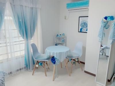 レンタルサロン「アクア」松戸店 サロンスペースの室内の写真