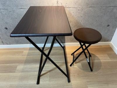 折り畳みテーブルと椅子を置いてます。 - スタジオ My style レンタルスタジオの設備の写真