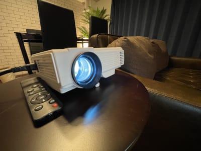 プロジェクター+100インチスクリーン完備 - ORIENTAL東新宿 410 の設備の写真