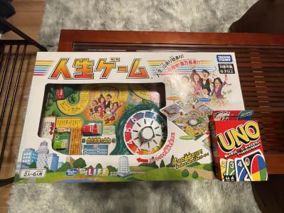 人生ゲーム・UNOでテーブルゲームもお楽しみいただけます - ORIENTAL東新宿 410 の設備の写真