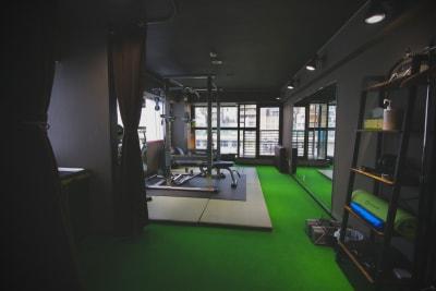 TengcleFitness レンタルジムの室内の写真