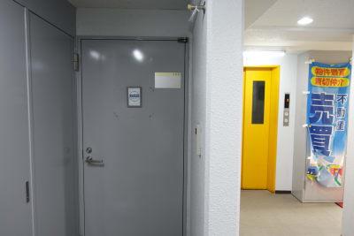 レンタルスペースKUMU レンタルスペースの入口の写真