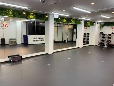 ACFit 柔術・格闘技もOK!スタジオの室内の写真