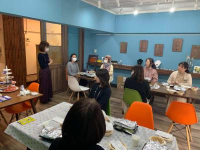 アクセサリー教室 - 北欧スタイルCOCOflap江坂 貸切レンタルスペースの室内の写真