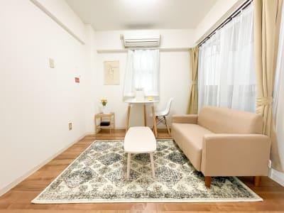 韓国風インテリアを使用したスーペスです🌼 - Roomie北堀江 韓国風スペース・ハウススタジオの室内の写真