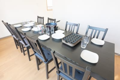 食器やキッチン利用希望の方は必ずオプションをお申し込みください。 - 【完全貸切】秋葉原駅より徒歩圏内 個室(12名利用可)の室内の写真
