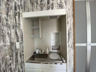 キッチン - BBQガーデン北梅田 5階 屋上の設備の写真