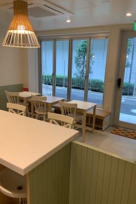 カウンター側から見た写真 - ATELIER295 キッチンスタジオ 写真・動画撮影の室内の写真