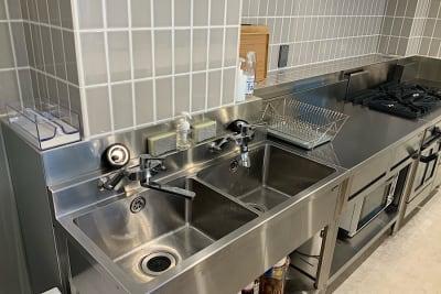 2槽式シンク - ATELIER295 キッチンスタジオ 写真・動画撮影の設備の写真