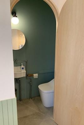 お手洗い - ATELIER295 キッチンスタジオ 写真・動画撮影の設備の写真