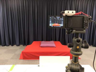 使用例 ④ ・イベントシーンでのレイアウト例 - STUDIOLOVOXUMEDA 多目的スペースの室内の写真