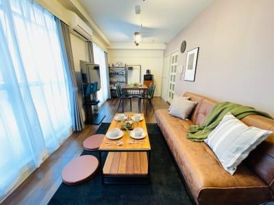 広々スペース - ルカリオ北堀江 パーティールーム、多目的ルームの室内の写真