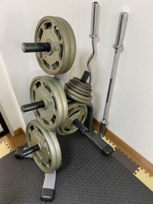 バーベル(1~20kg) - Cherryレンタルジム 中目黒 レンタルジムの設備の写真