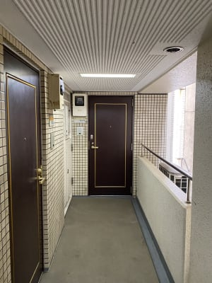 Cherryレンタルジム 中目黒 レンタルジムの入口の写真