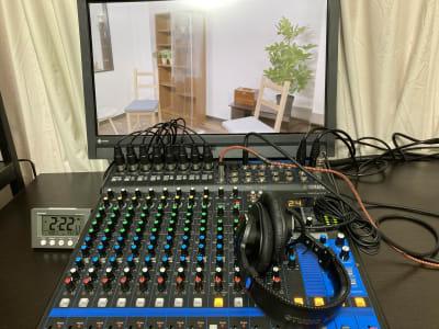 常設機材込みの価格 - アサカヤ要町スタジオ オンライン配信可能な防音スタジオの設備の写真