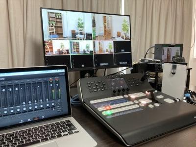 プロ用機材が充実 - アサカヤ要町スタジオ オンライン配信可能な防音スタジオの設備の写真