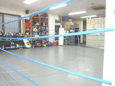 ラッキースターボクシングクラブ 格闘技、ヨガ、等に利用可能。の室内の写真