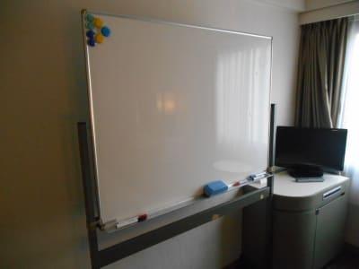 ホワイトボード - グランドセントラルホテル A会議室の設備の写真
