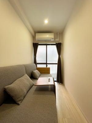 ソファベッド付き個室 - techhouse.tokyo 2階の室内の写真