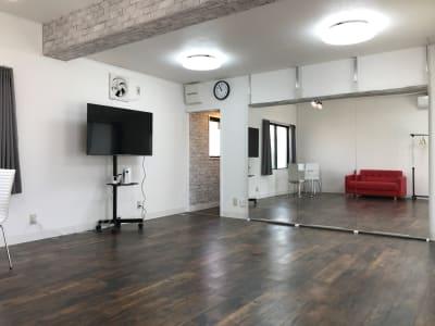 ヨガ、ダンス、楽器の練習が出来るスペースがエキニシエリアにできました。 - レンタルスペース エキニシ 楽の室内の写真