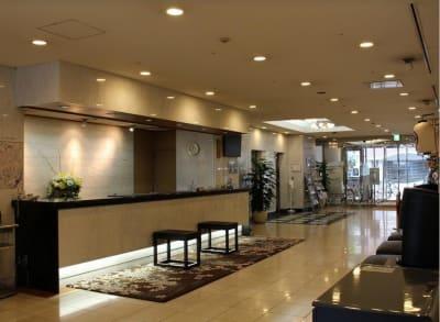 浅草セントラルホテル パーティールーム(バンケット)の入口の写真