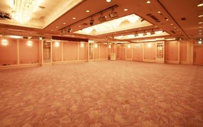 浅草セントラルホテル パーティールーム(バンケット)の室内の写真