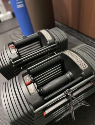 片方26kgまで♪ ワンタッチで変えられる可変式ダンベル - FitbankGym  完全個室のパーソナルジム ♪の設備の写真