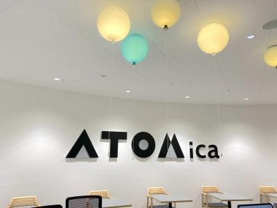 ATOMica北九州 ラウンジエリア(イベント会場)の入口の写真
