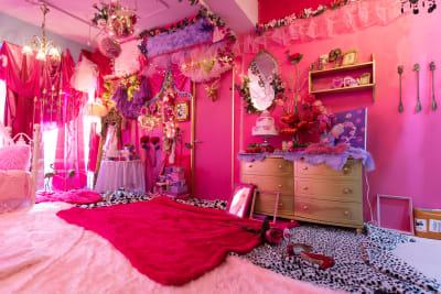 パステルガーリーエリア - Macaron Classic レンタルスタジオの室内の写真