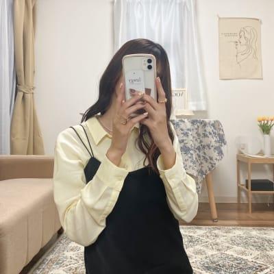 全身鏡で可愛いい自撮りも🤳 - Roomie北堀江 韓国風スペース・ハウススタジオの室内の写真