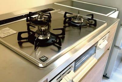 使いやすいキッチン! - halenoki (ハレノキ) ハレノキの設備の写真