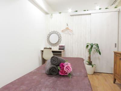 サロンスペース③ 完全個室 - PRIMAVERA池袋 サロンスペースの室内の写真