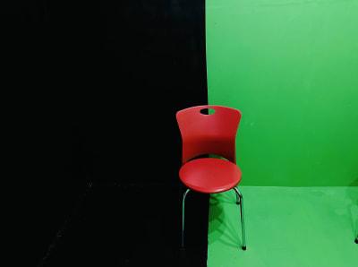動画撮影・配信収録スタジオ秋葉原 黒壁&グリーンバッククロマキーRの室内の写真