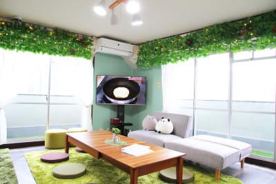 最上階角部屋で2面採光なので日当たり抜群♪ - アネックス新大阪 SpaceLikeの室内の写真